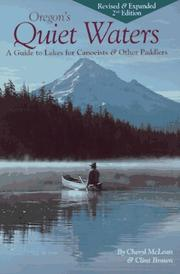 Cover of: Oregon's Quiet Waters