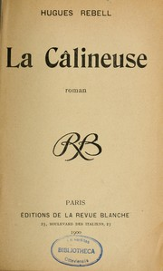 Cover of: La calineuse
