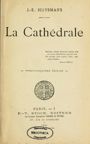 La cathédrale by Joris-Karl Huysmans