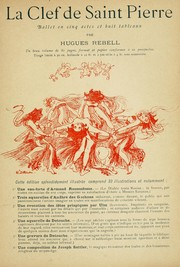 Cover of: La clef de Saint-Pierre