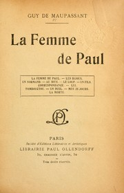 Cover of: La femme de Paul