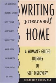 Cover of: Writing Yourself Home | Kimberley Snow