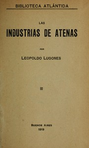 Cover of: Las industrias de Atenas