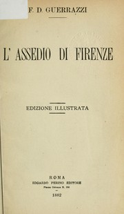 Cover of: L'assedio di Firenze