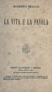 Cover of: La vita e la favola