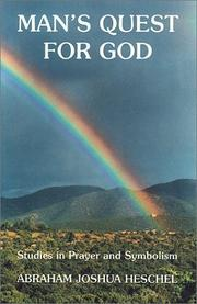 Cover of: Man's Quest For God