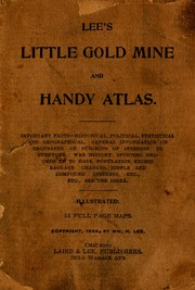 Lees little gold mine and handy atlas