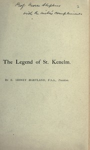 Cover of: The legend of St. Kenelm