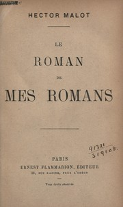 Cover of: Le roman de mes romans