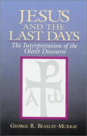 Cover of: Jesus and the last days