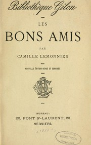 Cover of: Les bons amis