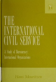 Cover of: The international civil service | Hans Mouritzen