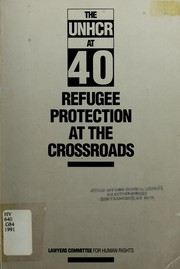 Cover of: The UNHCR at 40