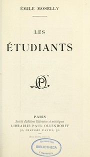 Cover of: Les Etudiants