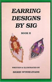 Cover of: Earring Designs by Sig