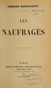 Cover of: Les naufragés