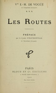 Cover of: Les routes
