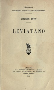 Cover of: Leviatano