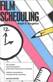 Cover of: Film Scheduling