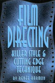 Cover of: Film directing | Renee Harmon
