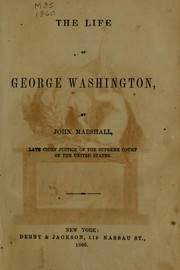 Cover of: The life of George Washington