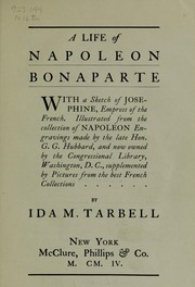 Cover of: A life of Napoleon Bonaparte
