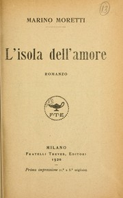 Cover of: L'isola dell'amore