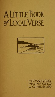 Cover of: A little book of local verse