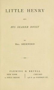 Cover of: Little Henry and his bearer Boosey