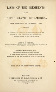 Cover of: Lives of the Presidents of the United States of America