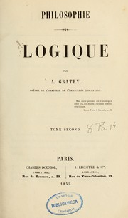 Cover of: Logique