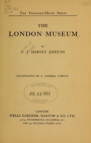 Cover of: The London museum