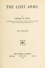 Cover of: The lost army | Thomas Wallace Knox