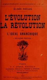Cover of: L'évolution