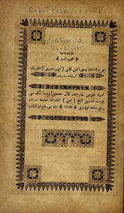 Cover of: Maḥmūd üs-siyer