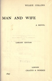 Cover of: Man and wife, a novel
