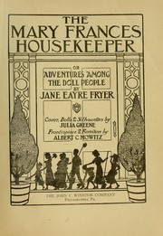 The Mary Frances housekeeper