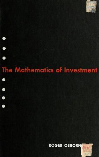 Nominator mathematics of investment rakesh s rajwani investments