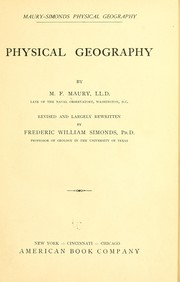 Cover of: Maury-Simonds physical geography