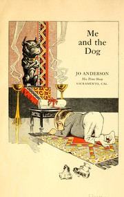 Cover of: Me and the dog | Jo Anderson
