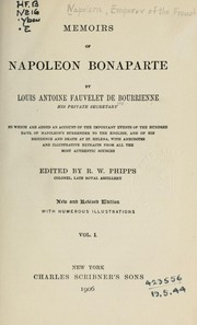 Cover of: Memoirs of Napoleon Bonaparte