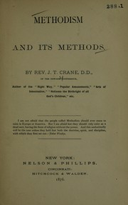 Cover of: Methodism and it's methods