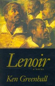 Cover of: Lenoir | Ken Greenhall