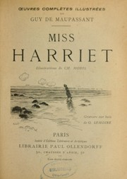 Cover of: Miss Harriet | Guy de Maupassant
