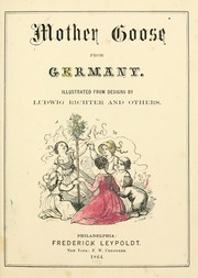 Cover of: Mother Goose from Germany