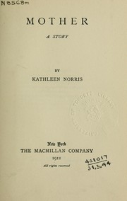Cover of: Mother, a story