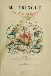 Cover of: M. Tringle