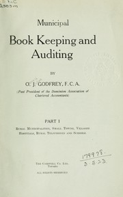 Cover of: Municipal book keeping and auditing