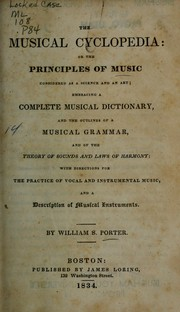Cover of: The musical cyclopedia | William Smith Porter