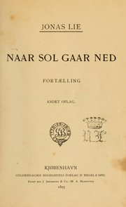 Cover of: Naar Sol gaar ned : fortaelling